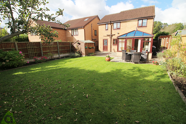 Thumbnail Detached house for sale in Dunham Close, Westhoughton
