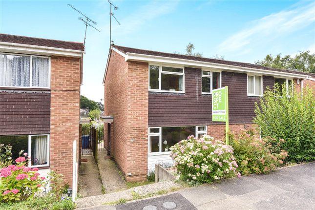 Thumbnail Semi-detached house for sale in Grampian Road, Little Sandhurst, Berkshire