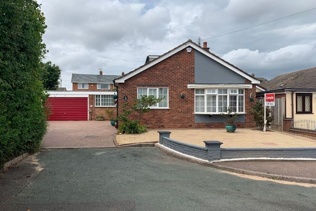 Thumbnail Detached bungalow for sale in Highfield Close, Chase Terrace, Burntwood