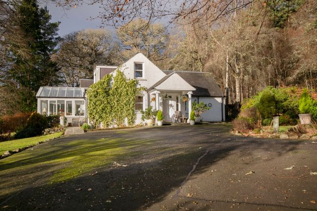 Thumbnail Detached house for sale in Clunie Bridge Road, Pitlochry, Perthshire
