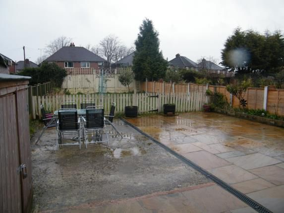 Patio Area of Selworthy Drive, Crewe, Cheshire CW1