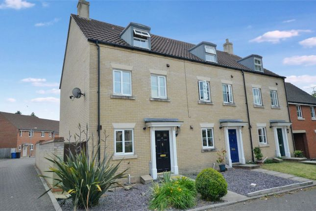 Thumbnail End terrace house for sale in Marauder Road, Old Catton, Norwich