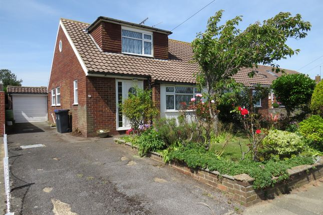 Thumbnail Bungalow for sale in Burnside Crescent, Sompting, Lancing