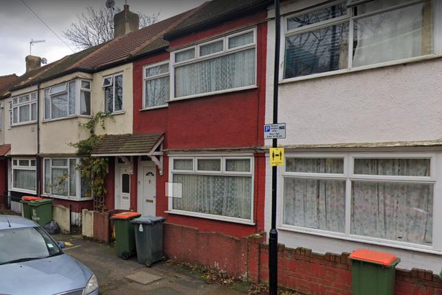 Thumbnail Terraced house to rent in Berwick Road, Custom House, London