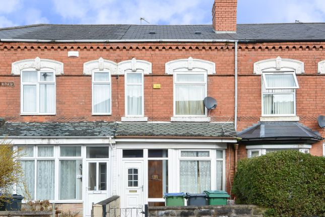 Thumbnail Terraced house for sale in St Marys Road, Bearwood