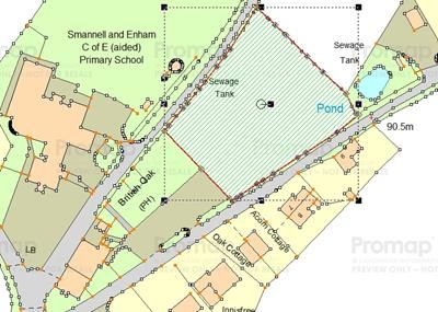 Thumbnail Commercial property for sale in Land At The Oak, Smannell, Andover, Hampshire