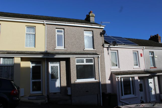 Thumbnail Terraced house for sale in Eliot Street, Weston Mill, Plymouth