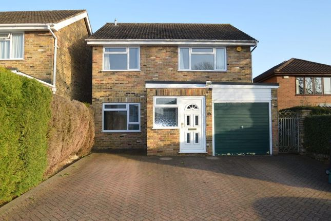 Thumbnail Detached house for sale in Hill Avenue, Hazlemere, High Wycombe