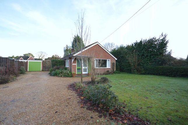 Thumbnail Bungalow to rent in Headley Fields, Headley, Bordon