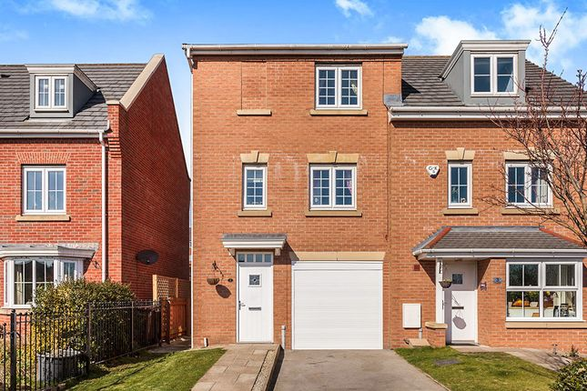 Thumbnail Semi-detached house for sale in The Laurels, New Forest Village, Leeds