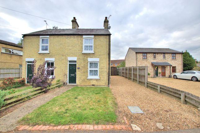 Thumbnail Semi-detached house to rent in Landbeach Road, Milton, Cambridge