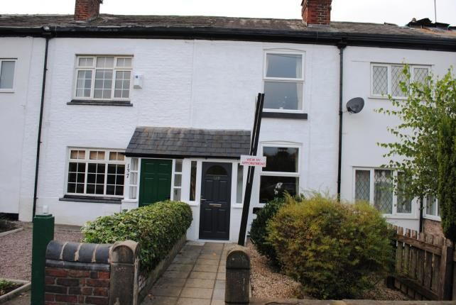 Thumbnail Terraced house for sale in Ladybridge Road, Cheadle Hulme, Cheadle, Greater Manchester