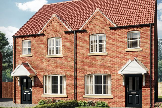 Thumbnail Semi-detached house for sale in Canwick Way, Gainsborough