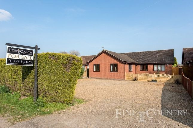 Thumbnail Detached bungalow for sale in Nordle Corner, Common Road, Bressingham, Diss