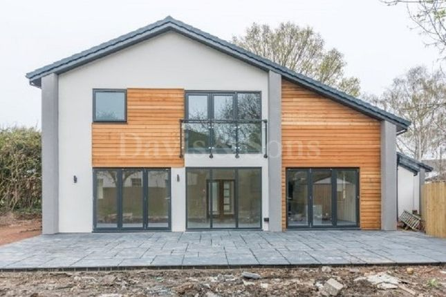 Thumbnail Detached house for sale in Caerleon Road, Ponthir, Newport.