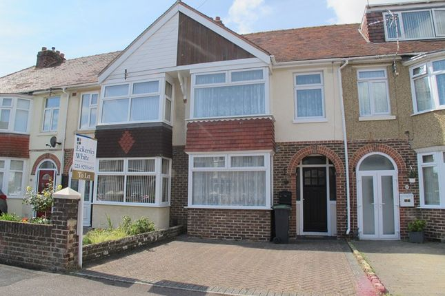 Thumbnail Terraced house to rent in Hastings Avenue, Gosport, Hampshire