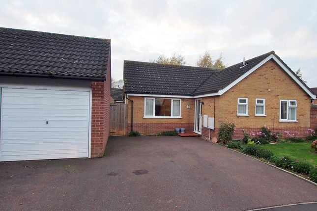Thumbnail Detached bungalow for sale in Robert Close, Wymondham