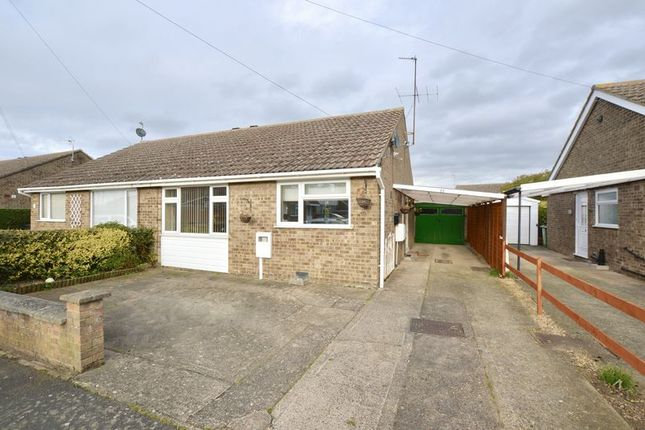 Thumbnail Semi-detached bungalow for sale in Churchill Road, Stamford