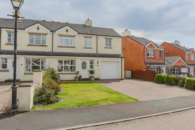 Thumbnail Semi-detached house for sale in Abbots Close, Abbotswood, Ballasalla