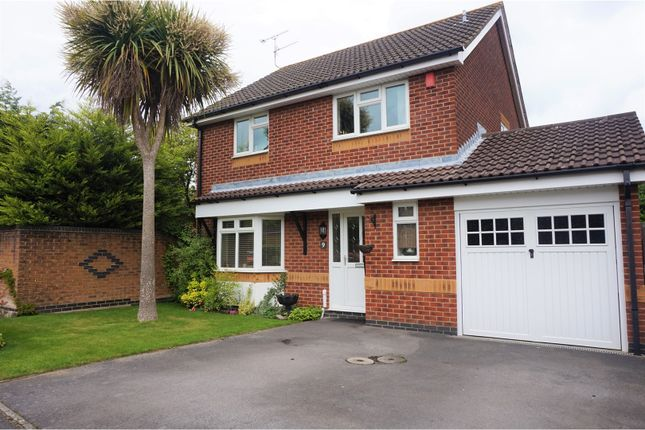 Thumbnail Detached house for sale in Merlin Gardens, Hedge End
