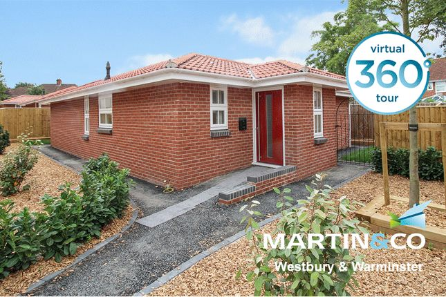 Thumbnail Detached bungalow to rent in Haynes Road, Westbury