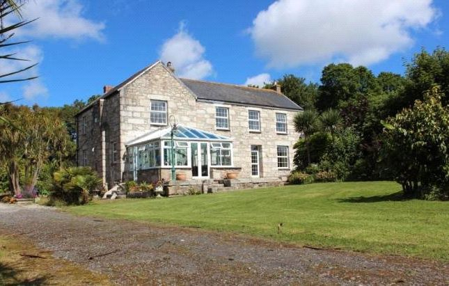 Thumbnail Detached house for sale in St Hilary, Goldsithney, Penzance, Cornwall
