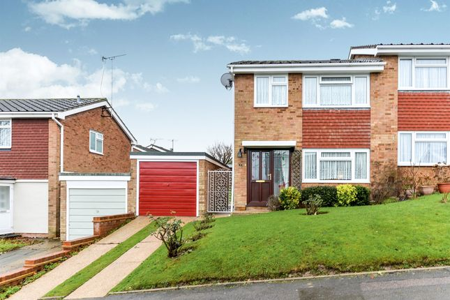 Thumbnail Semi-detached house for sale in Clydesdale Road, Royston