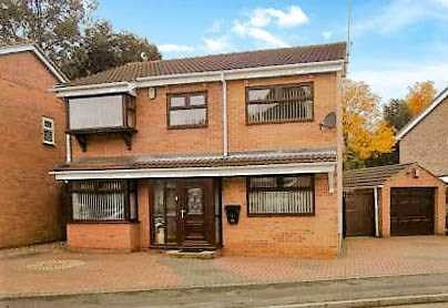 Thumbnail Detached house for sale in Camelot Avenue, Sherwood