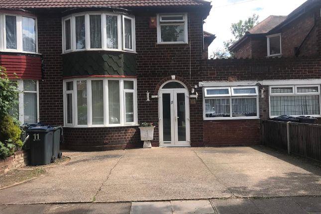 Thumbnail Semi-detached house for sale in Rymond Road, Birmingham