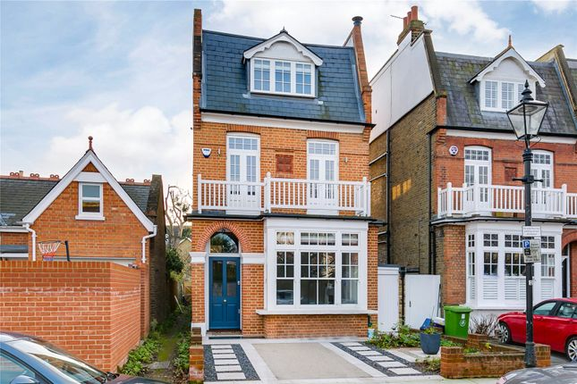 Thumbnail Detached house for sale in Lawn Crescent, Kew, Surrey