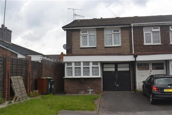 Thumbnail Detached house to rent in Primley Close, Walsall