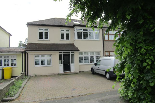 Thumbnail End terrace house for sale in Albany Road, Hornchurch