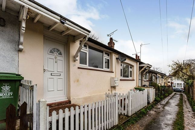 Thumbnail Bungalow to rent in Hillside, Erith