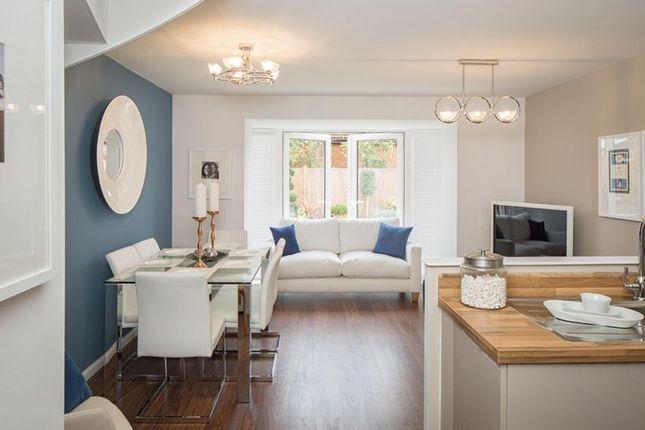 "Thumbnail Terraced house for sale in ""Helmsley"" at Pedersen Way, Northstowe, Cambridge"