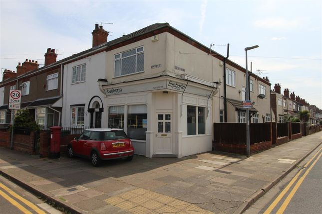 Thumbnail End terrace house for sale in Bentley Street, Cleethorpes