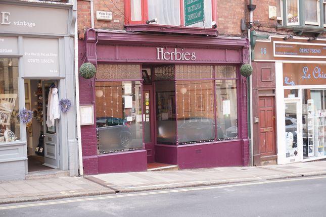 Thumbnail Restaurant/cafe for sale in North Street, Exeter, Devon