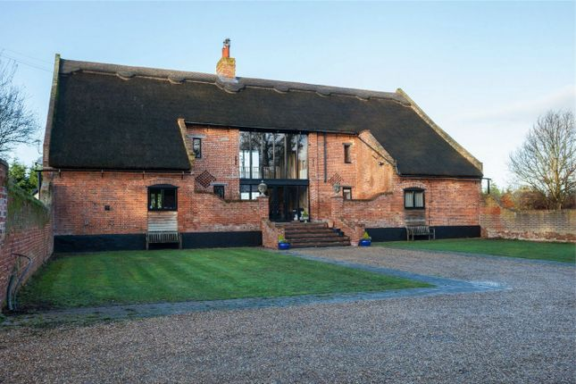 Thumbnail Barn conversion for sale in Manor Road, Cantley, Norwich, Norfolk, United Kingdom