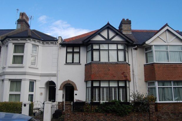 Thumbnail Terraced house to rent in Hanover Road, Eastbourne