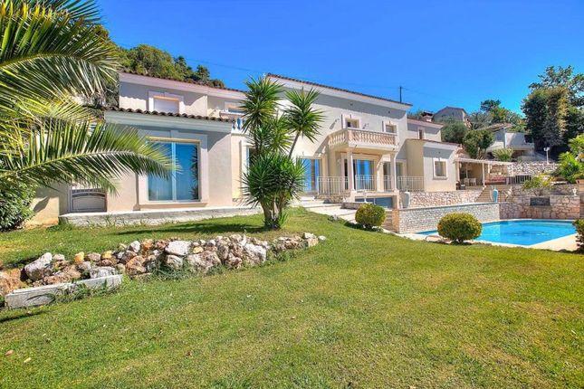 Thumbnail Villa for sale in Castagniers, Provence-Alpes-Cote D'azur, 06670, France
