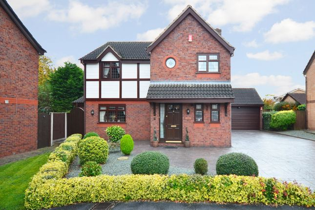 Thumbnail Detached house for sale in Hanbury Close, Wistaston, Crewe
