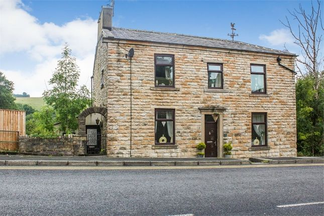 Thumbnail Detached house for sale in Blackburn Road, Rising Bridge, Accrington, Lancashire