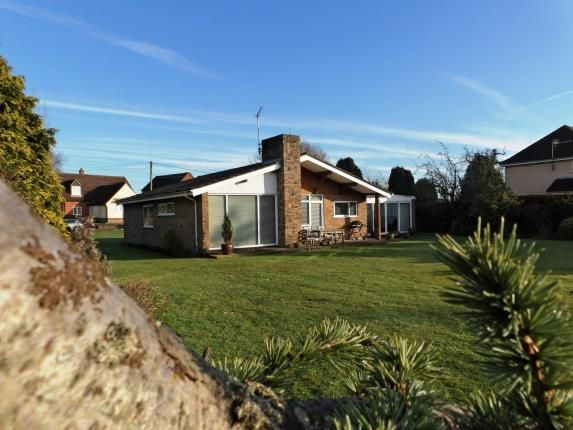 Thumbnail Bungalow for sale in Claxton, Norwich, Norfolk