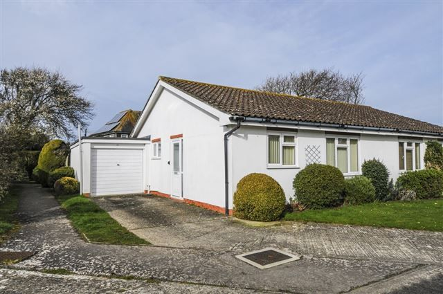 Thumbnail Semi-detached house for sale in Locksash Close, West Wittering, Chichester