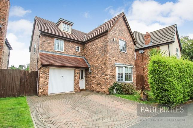 Thumbnail Detached house to rent in Minster Drive, Davyhulme, Manchester