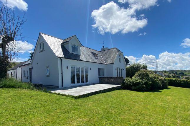 Thumbnail Detached house for sale in Carmel, Gwynedd