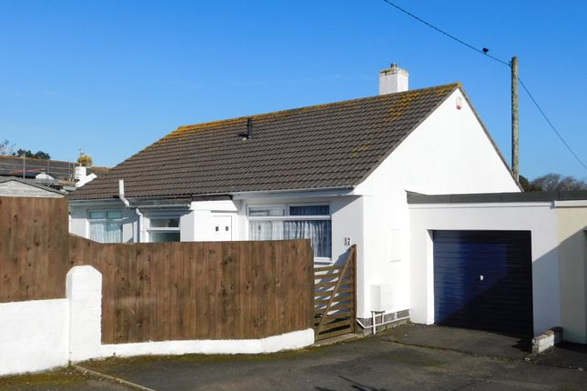 Thumbnail Detached bungalow for sale in Boskennal Drive, Hayle, Cornwall