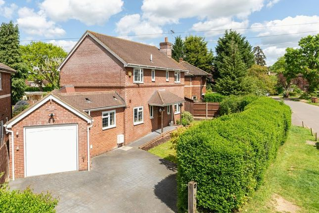 Thumbnail Detached house for sale in Nightingale Crescent, West Horsley, Leatherhead