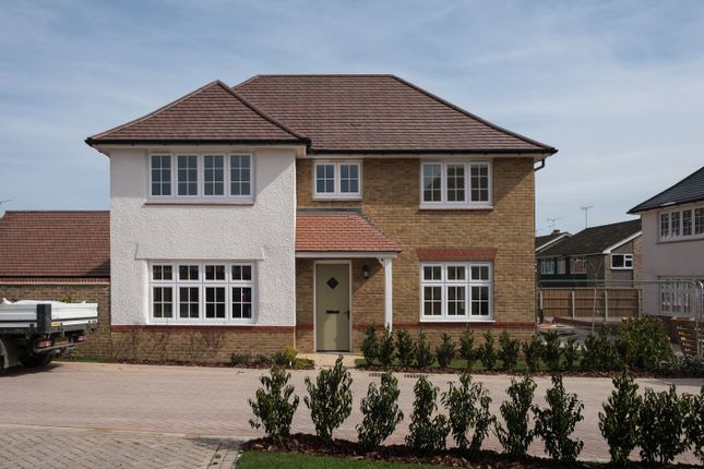 Thumbnail Detached house for sale in Saxon Brook, Pinn Hill, Exeter, Devon