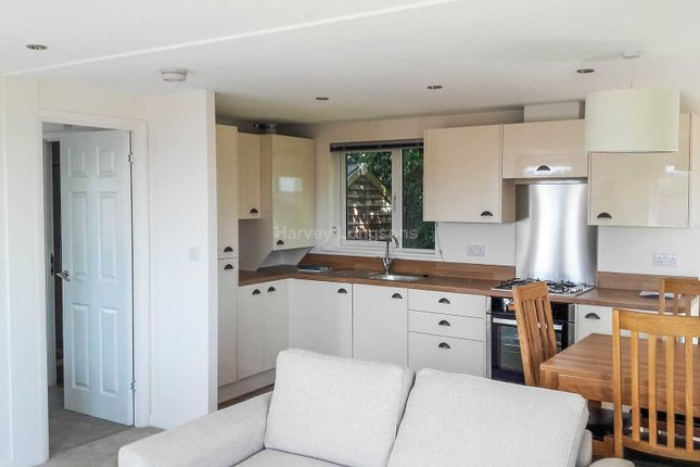 Thumbnail Mobile/park home for sale in Trelowth, St. Austell