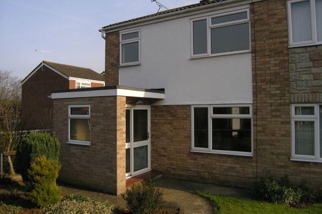 Thumbnail Semi-detached house to rent in Elton Road, Banbury